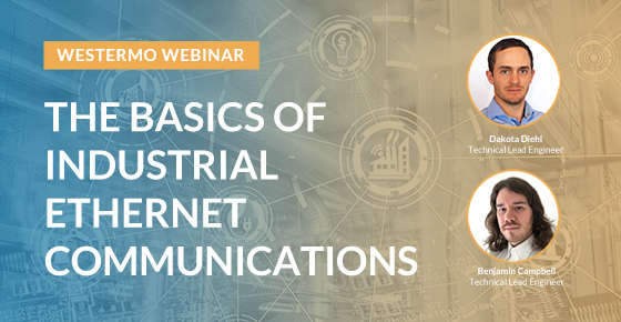 Webinar covering Industrial networking basics.