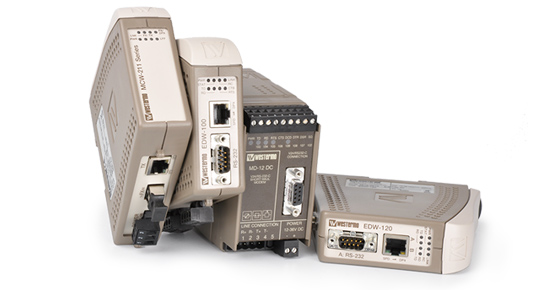 Industrial serial converters and repeaters by Westermo.