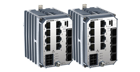 Westermo IEC 61850 industrial Ethermet switches for substation automation.