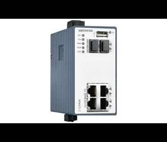 Westermo Lynx Managed EX approved Ethernet Switch L106-F2G EX.