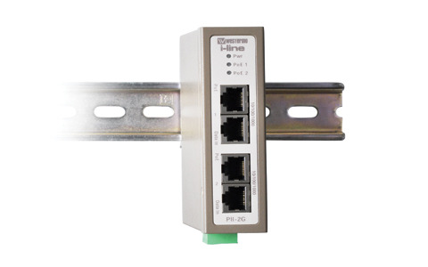 Industrial 2-port PoE Injector PII-2G by Westermo